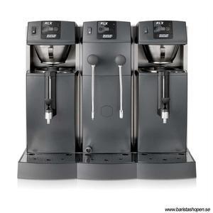 Bonamat - RLX 585 - Restaurangmaskin - Brygger i två behållare - Inklusive varmvatten och vattenånga - Flexibel lösning för restaurang- och barmiljöer