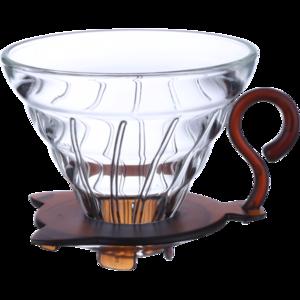 TimeMore - Glass V02 Dripper - Filterhållare i glas