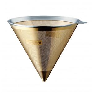 Cores - Cone Gold filter - Permanent guldfilter till Chemex kaffebryggare