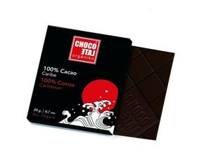 ChocoLate Orgániko - Dark Chocolate 100% - 20g