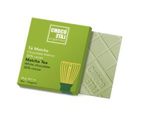 ChocoLate Orgániko - White Chocolate Matcha Tea - 20g