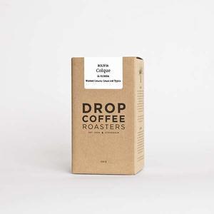 Drop Coffee - *KAMPANJ* - Colque - Bolivia - Ljusrostade kaffebönor - 250g