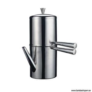Ilsa - Drip Coffee Maker - 6 Koppar (400 ml) - Droppkaffekanna i rostfritt stål