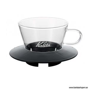 Kalita - Glass Dripper 155 - Black - Filterhållare i glas