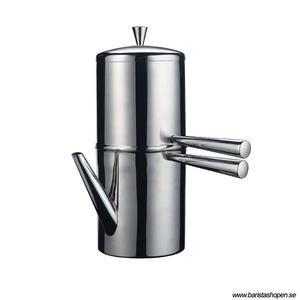 Ilsa - Drip Coffee Maker - 9 Koppar (550 ml) - Droppkaffekanna i rostfritt stål