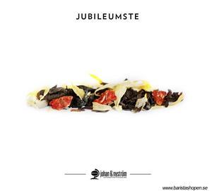 Johan & Nyström - Konfetti - Ekologiskt svart te med jordgubb, bergamott, äpple och grädde
