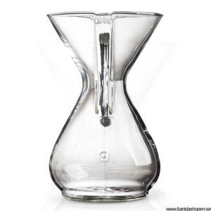 Chemex - 6 koppars kaffebryggare med GLASHANDTAG