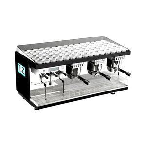 Elektra - KUP 3-group - Pearl Black - Snygg, effektiv espressomaskin för restaurangen eller caféet - Tre grupper