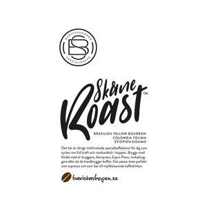 Baristashopen - Skåne Roast™ - Kraftfulla och mörkrostade kaffebönor - 1000g