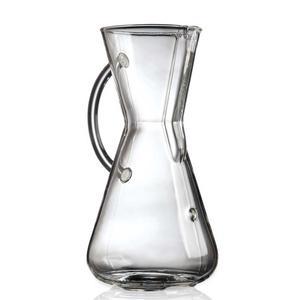 Chemex Classic - 3 koppars kaffebryggare med GLASHANDTAG