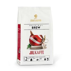 Johan & Nyström - Julkaffe 2018 BRYGGMALET - Lätt mörkrostat bryggmalet kaffe - Original Brew- 250g