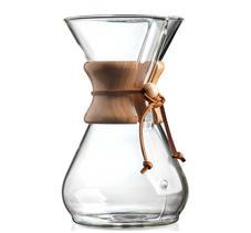 Chemex Classic - 8 koppars kaffebryggare med trähandtag