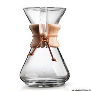 Chemex Classic - 10 koppars kaffebryggare med trähandtag