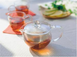 Hario Cha Cha KyusuMaru Tekanna glas 300ml - 1-2 små koppar te