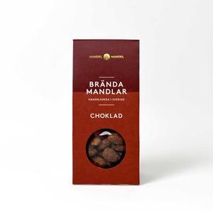Mandel och Mandel - Brända mandlar choklad - Läckra kanderade mandlar handgjorda i Sverige