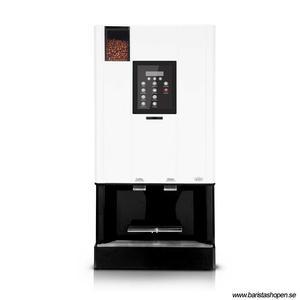 Coffee Queen - CQube MF13 W Vit - Exklusiv design med välsmakande, nybryggt kaffe - Modell med kallvatten - Behållare för hela bönor