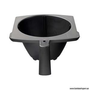 Bonamat - Ergonomsik filterhållare - Passar till Novo och ISO filterbryggare - Plast