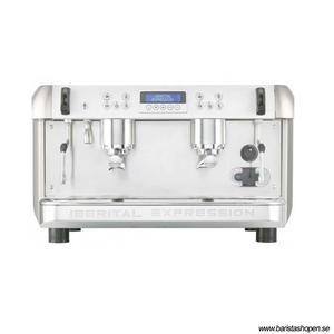 Iberital - Expression 2G - Modern, elektronisk espressomaskin - Med två kokare
