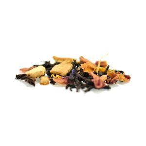 Johan & Nyström - SOFO - papaya, vanilj, blåklint - svart smaksatt te