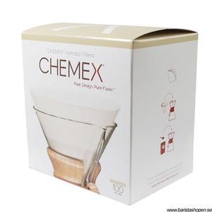 Chemex Classic Filter Circles - förvikta filter till 6, 8 och10 koppars bryggare