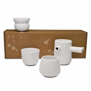 Figgjo - Oslo - Pot - kanna med lock i vit keramik