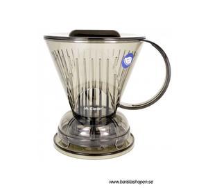 Clever Dripper Large - Ny modell - Smart kaffebryggning - nu med lock!