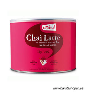 Drink Me Chai Latte - Spiced Fair Trade med doseringssked - 1kg