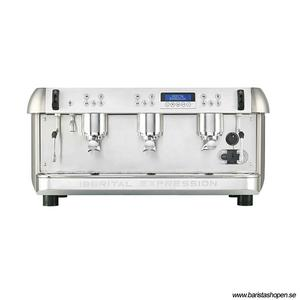 Iberital - Expression 3-grupp - Espressomaskin med tre brygghuvud