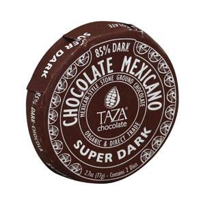 Taza Disc - Super Dark 85%  - Ekologisk choklad - 77g