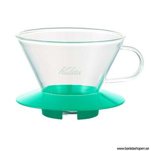 Kalita - Glass Dripper 185 - Peppermint Green - Filterhållare i glas