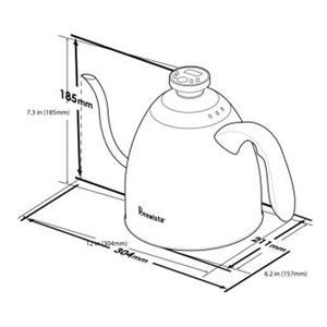 Brewista - Smart Pour Stovetop Kettle - Analog Temperaturmätare